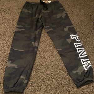 PINK camouflage lounge pants